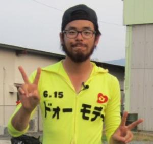 福岡ドォーモの赤塚亮太郎(たろぽん)のヒゲ